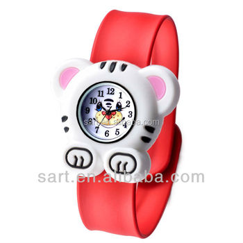 kids slap silicone watches made in china