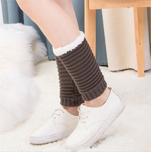 Women Boot Knit Cuffs Short Crochet Leg Warmers Variety of Styles Winter Warm Cuff Socks