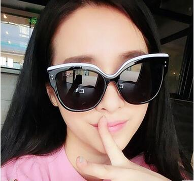 fashion trend of Cat Eye Sunglasses m nail colorful Sunglasses peppers big sunglasses 5112
