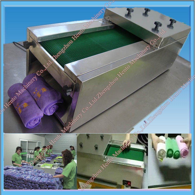 Hot Selling High Quality Automatic Towel Rolling Machine