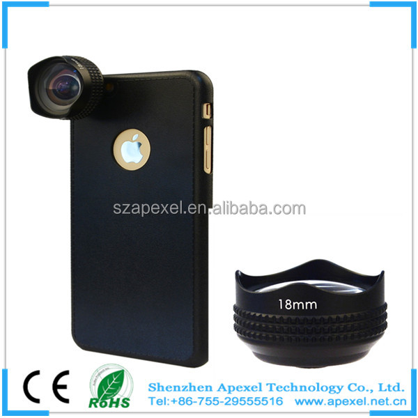 interesting products 2016 custom camera high quality super wide 0.63x 18mm lens for cellphone