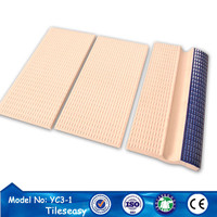 Standard sport competition swimming pool tiles China supply