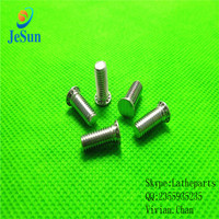 Custom high precision aluminium/stainless steel hex socket /round head cap screw/nuts