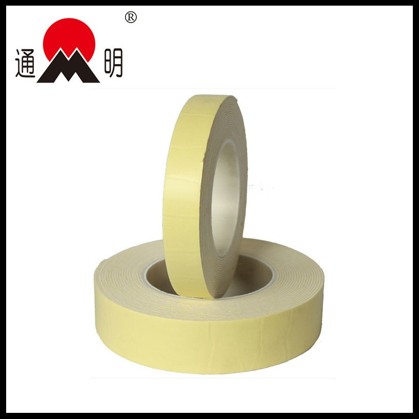 colorful pe double sided high temperature resistance self adhesive foam tape