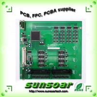 network multilayer PCB Circuit Sample and Assembly