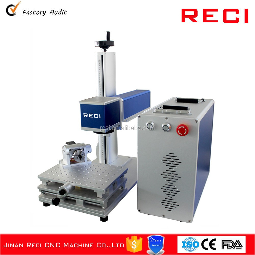 Hot sale 30W mini bolt/pinchers fiber laser marking machine for sale