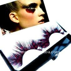 1 Pair Extra Long Feather Carnival False Eyelash - Good Quality