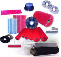 PCB special brush/nylon cleaning brushes/nylon wire sweep machine brush