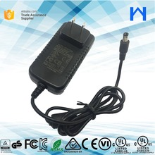 Level 6 UL Class 2 Wall Mount Power Supply 18 volt 1.5 amp wall power charger ac to dc power adapter 18V 1.5A ul cul approval