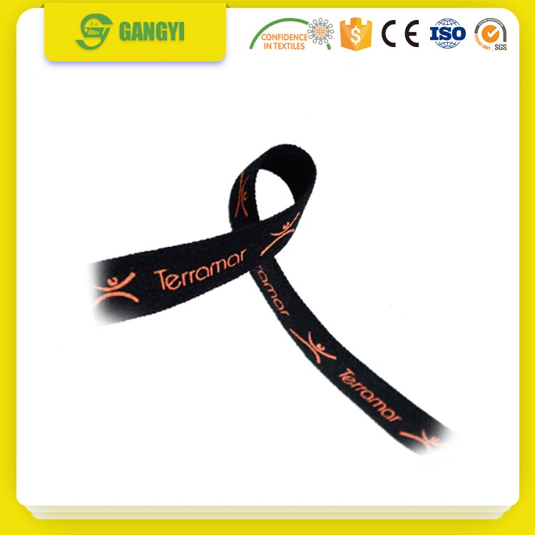 Military color polyester knitted elastic webbing