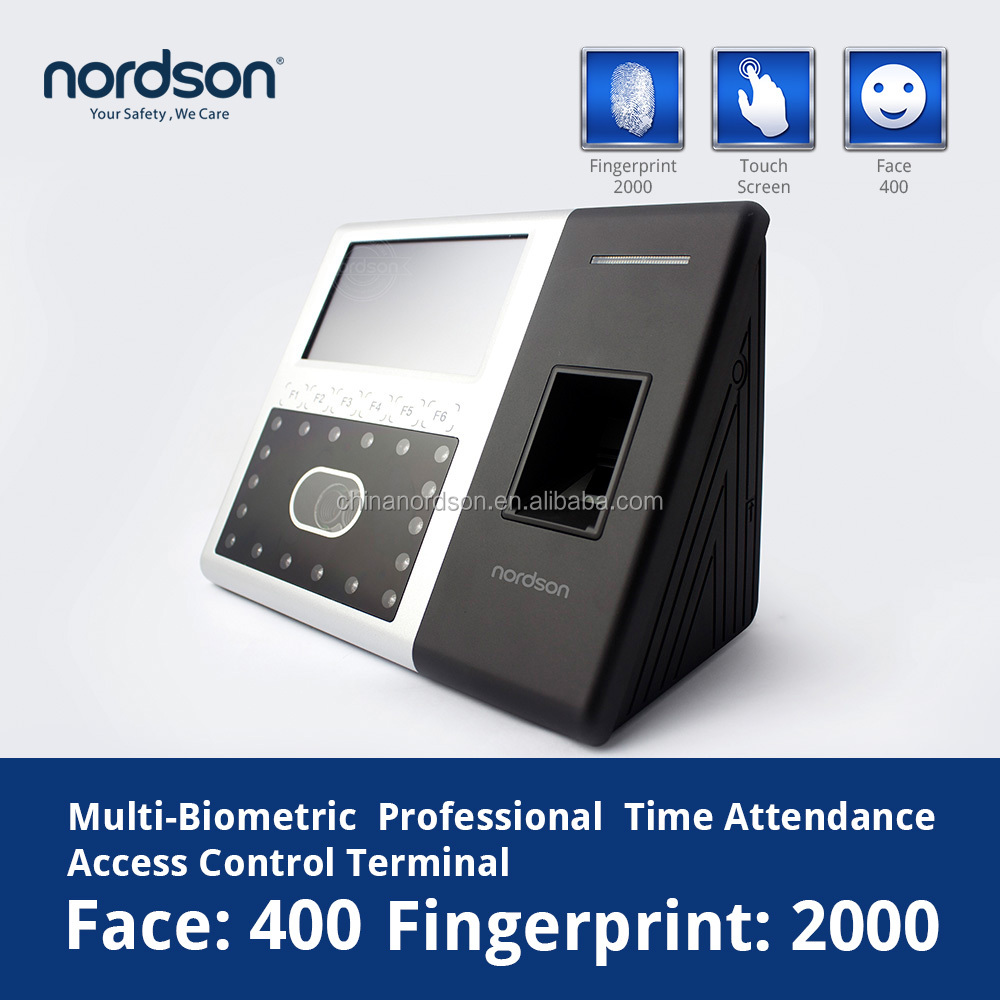 Office equipment Nordson Finger & Face recognition time attendance recording device ( FR-iface302 )