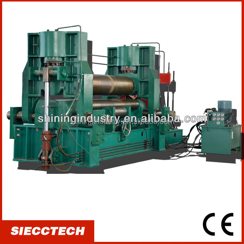 SIECC <strong>W11S</strong> UPPER <strong>ROLLER</strong> HYDRAULIC ROLLING MACHINE IN NANTONG WITH COMPETITIVE PRICE AND HIGH QUALITY