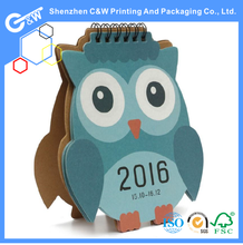 credit card size 2016 chinese calendar