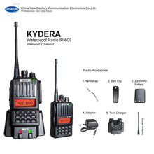 5W Ham Handheld Waterproof Radio IP-609 plus 2300mAh battery for all water users