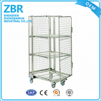 Demountable Roll Container For The Transportation