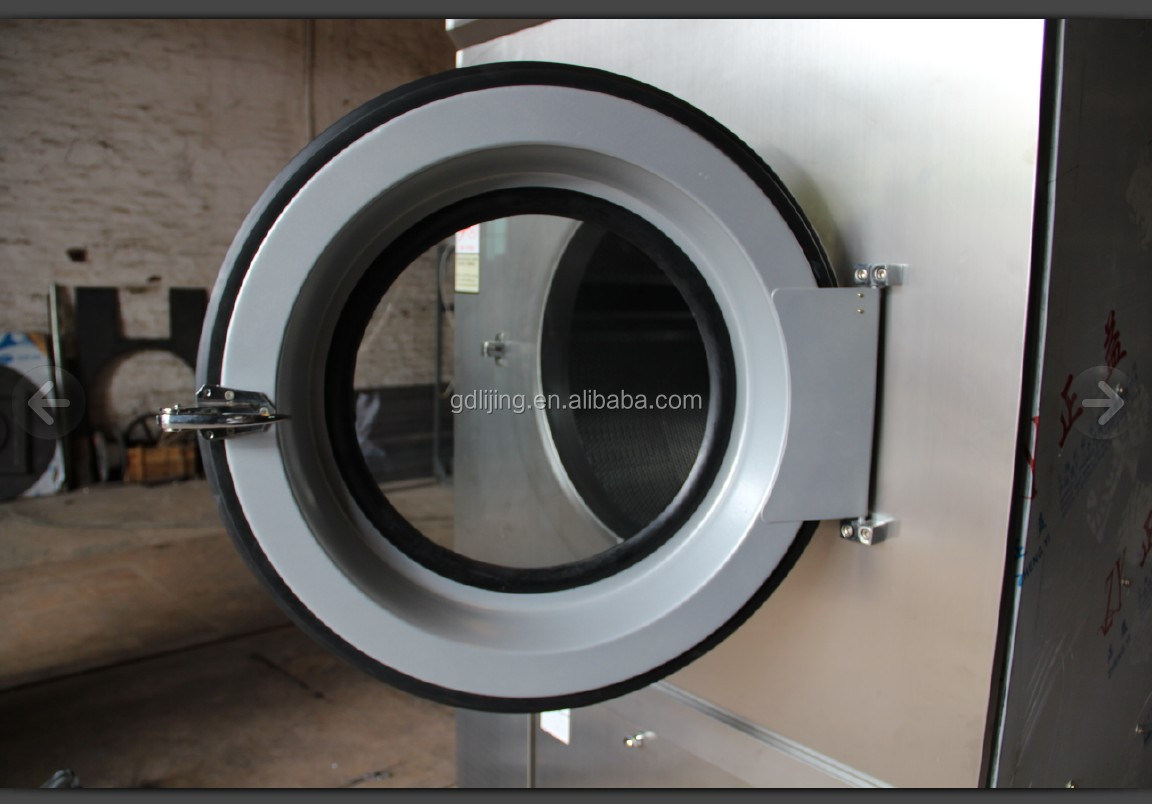 15KG HG series Fully automatic Steam/Electric dryer for hotel equipment and Laundry Appliances