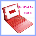 Bluetooth Keyboard with Leather Case for iPad Air iPad 5