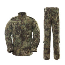 Montain Python Camouflage military uniforms for army