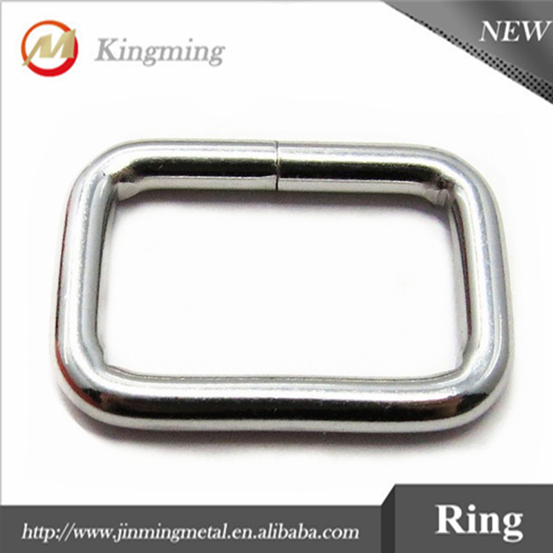 Nickle Free Bag Hardware Square Metal Ring