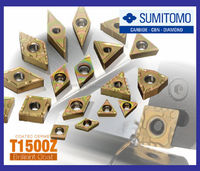 IGETALLOY highly-efficient Sumitomo insert for steel machining