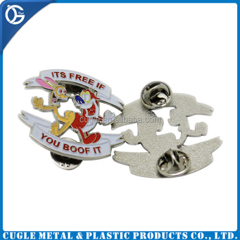 Custom metal soft enamel lapel pin with good quality manufacturers china