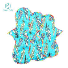 Happy Flute 3pcs/set Reusable Waterproof menstrual pads washable adult sanitary Pads Soft Healthy cloth pads