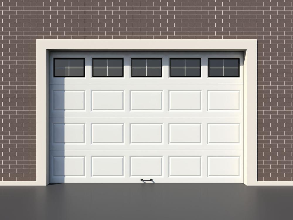 heat insulation pu panel garage door for sound insulation
