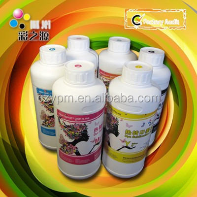 Dye Sublimation Ink Compatible For Epson Roland Mimaki Mutoh Piezo Print Head Printers