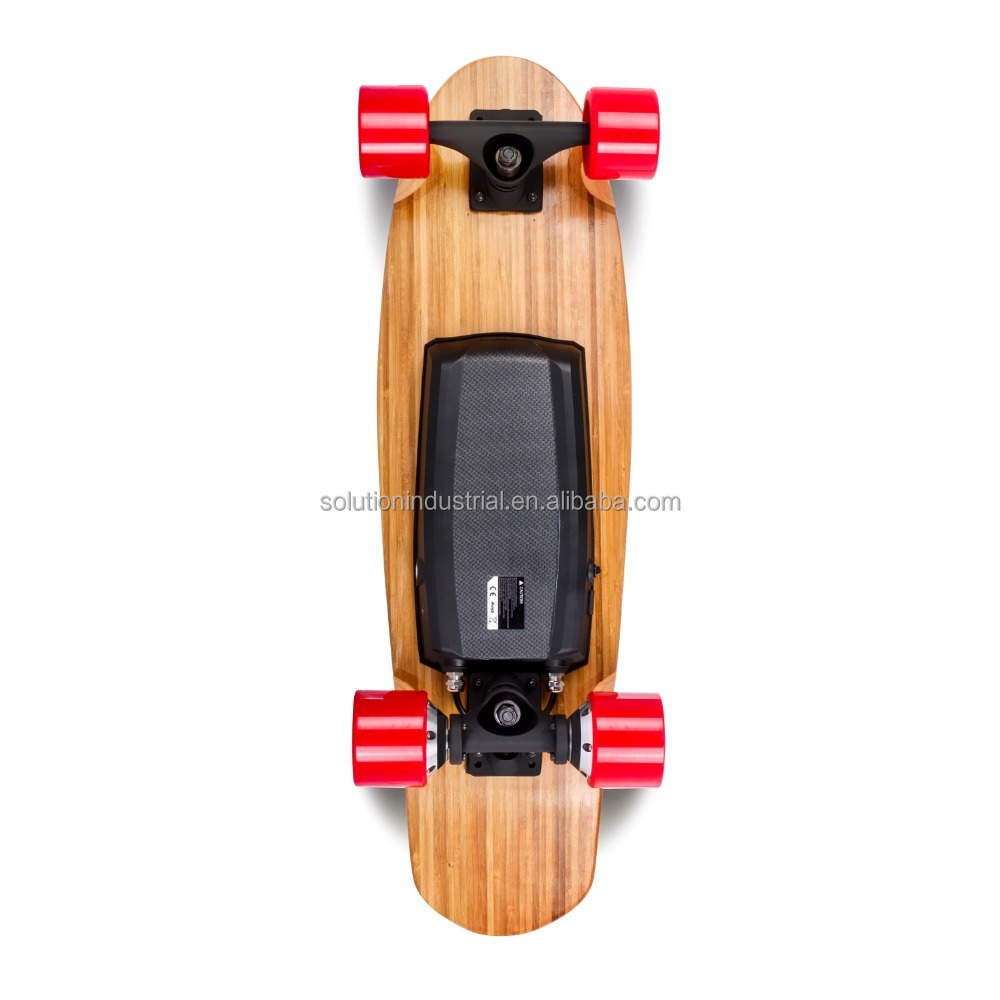Ewheelin 2016 Newest Dual Driver Canadian Maple Remote Control Electronic Skateboard I4 With Two Hub Motor Dual Drive 800W