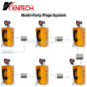 KNTECH PA3 intercom communication Industrial Multi-Party Paging Broadcasting System system of telephone communication solutions