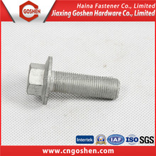 grade 8.8 Galvanized hex Flange head Bolts
