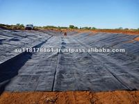 LLDPE and HDPE Geomembranes Clay Dam Liners