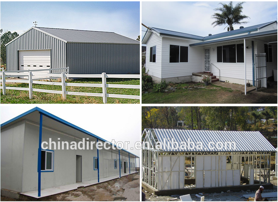 Cheaper Sandwich Panel House Affordable House Low Cost