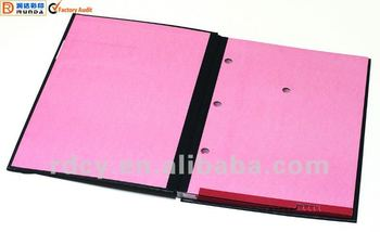 Hot sale Hard Cover Signature Folder(customize what you want)