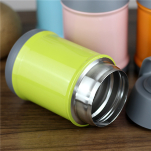 Small order stainless steel food container/thermos food flask