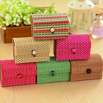 wholesale display homemade smart safty key jewellery lipstick gift bamboo box