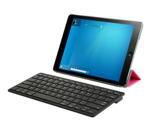 ce rohs approved abs bluetooth tablet pc keyboard spanish for ipad2/3/4/5
