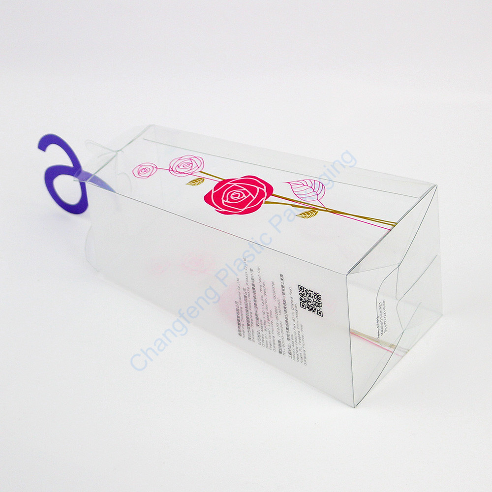 customized logo plastic premium gift box