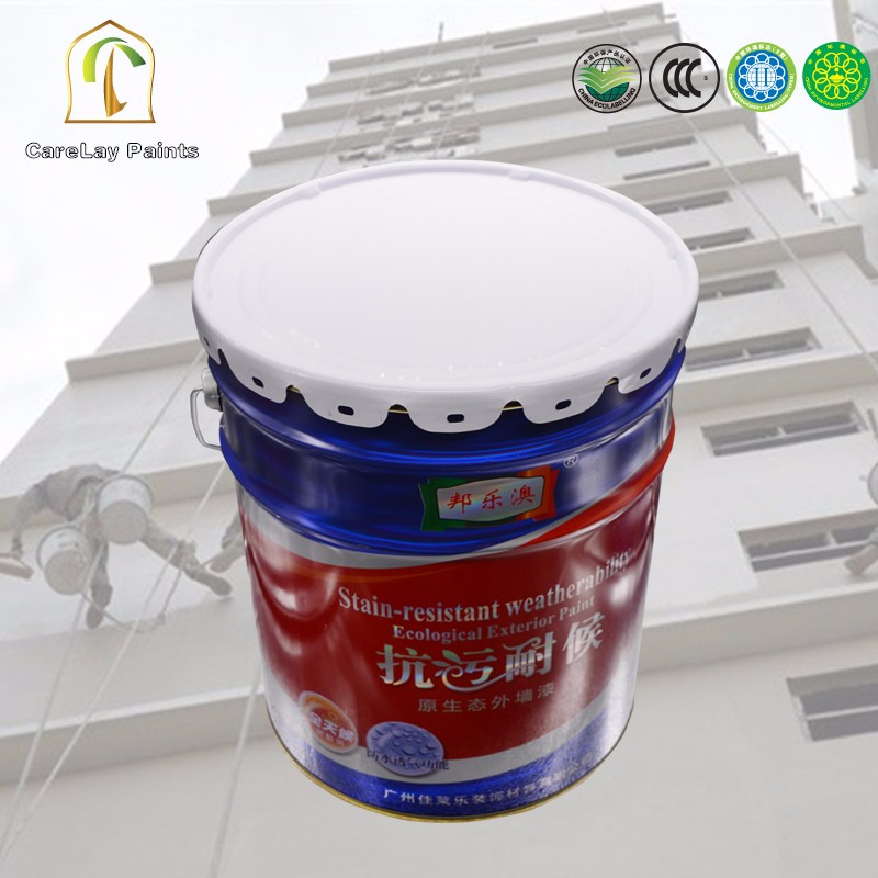Cheap stain&dirt resistance exterior concrete home paint
