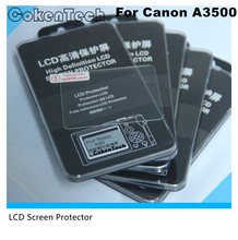 Camera Optical Tempered Glass LCD Screen Panel FilmProtector 0.3mm HD Guard Waterproof Cover for Canon A3500