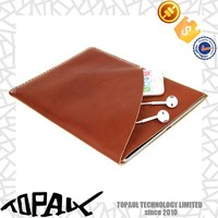 Luxury leather case for iphone 6, business pouch bags cover case for ipad mini 2