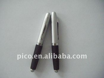 Half Metal Ballpoint Pen With Different Color Eva Grip