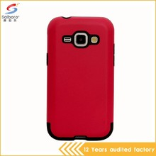High impact shockproof slim armor case for samsung galaxy j1 2016