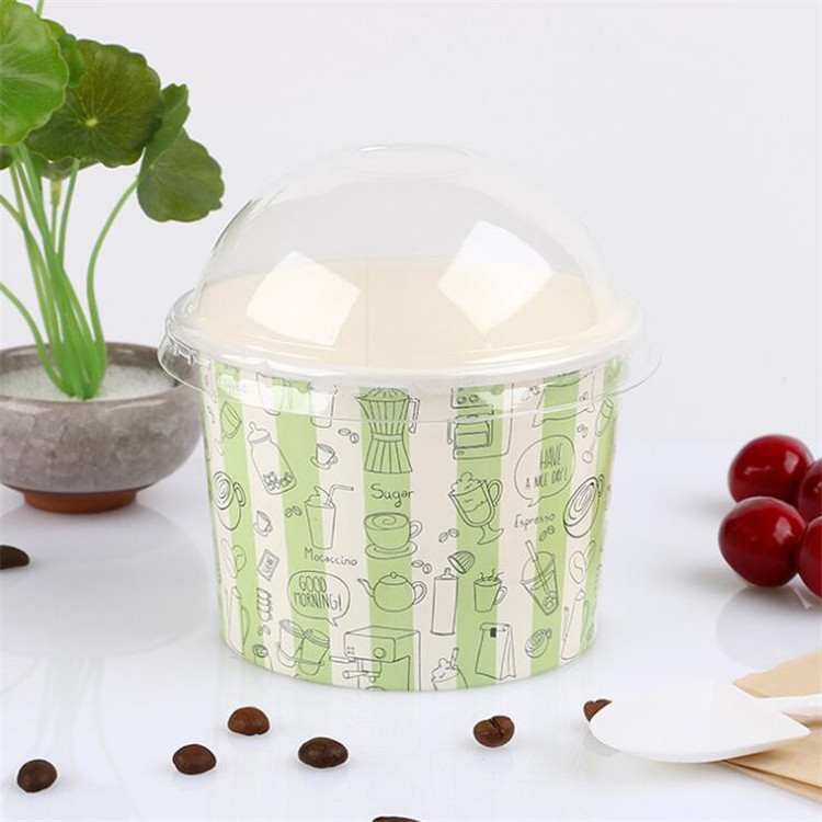 Gelato Ice cream paper cup for Italy market