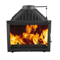 factory direct supply insert fireplace cast iron wood stove WM-XL031
