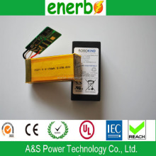 High power li-polymer battery 723272 11.1v,1700mAh,with CE, UL, IEC62133 ge power lipo battery