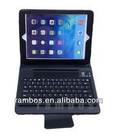 For iPad Air Keyboard with Stand Bluetooth Silicone Leather Keyboard Case
