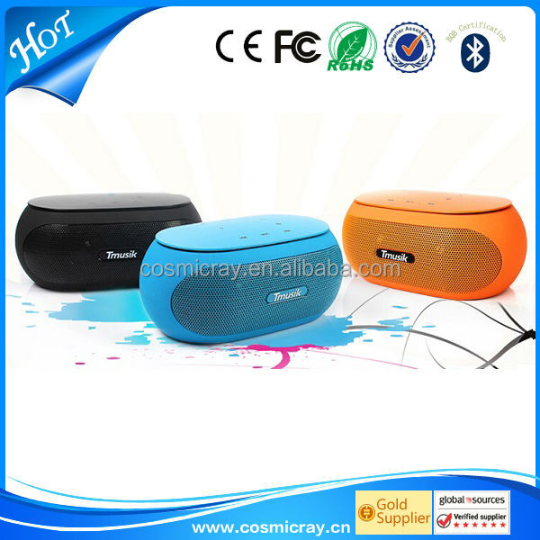 mini aluminum vibration film loud speaker, with competitive price,support TF card and hand-free function