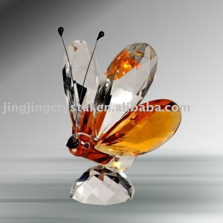 Crystal Animal butterfly Crystal Figurine Animal Model