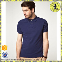 Customized fake dry fit mens polo shirt design